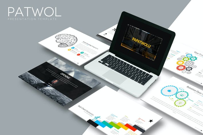 Thumbnail for Patwol - Powerpoint Template
