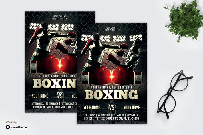 Thumbnail for Boxing Fight - Sport Flyer MR