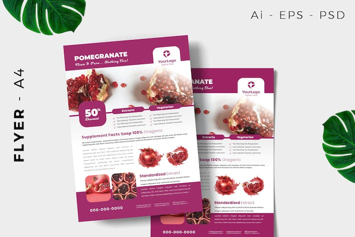 Thumbnail for Pomegranade Product Flyer