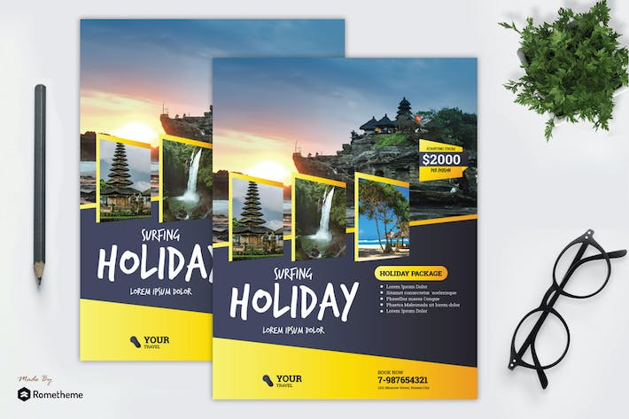 Thumbnail for Holiday Travel Flyer vol.2