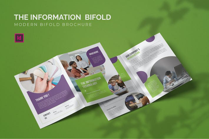 Thumbnail for Information Technology - Bifold Brochure