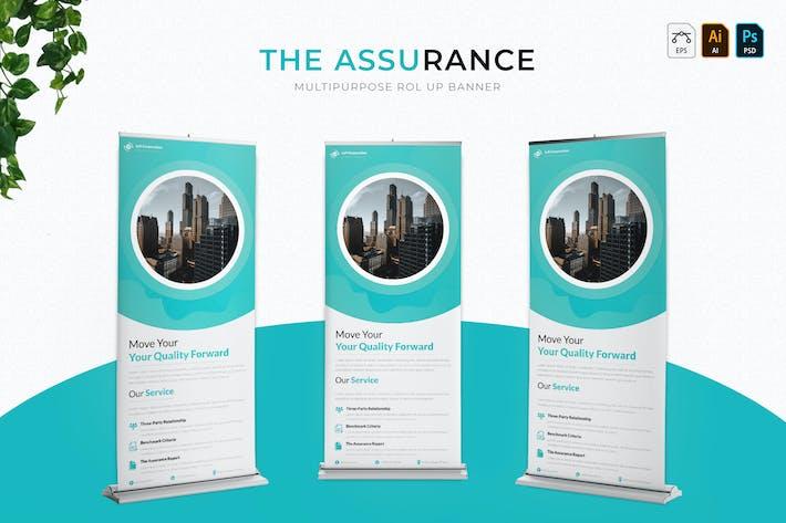 Thumbnail for Assurance | Roll Up Banner