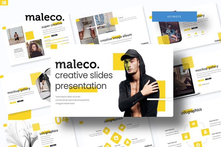 Thumbnail for Maleco - Keynote Template