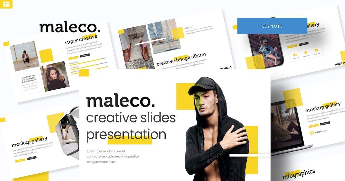 Download Maleco - Keynote Template by IanMikraz