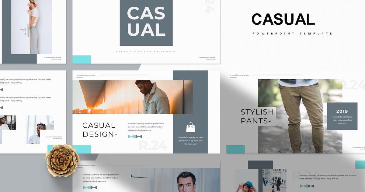 Download Casual | Powerpoint Template by Vunira