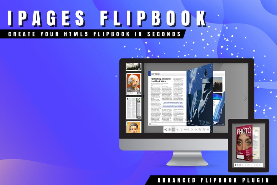 iPages Flipbook For WordPress