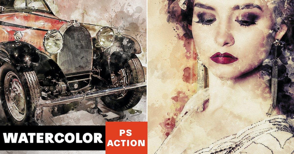 Download Sensation - Watercolor Photoshop Action by AB-Designer