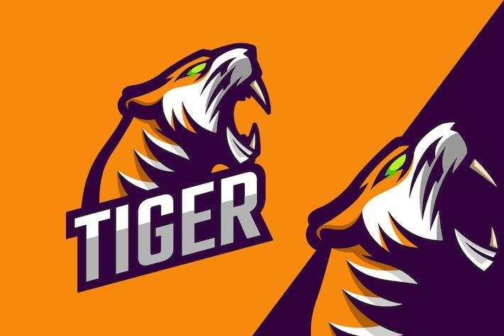 Thumbnail for Tiger Logo Mascot