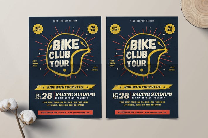 Thumbnail for Bike Club Flyer