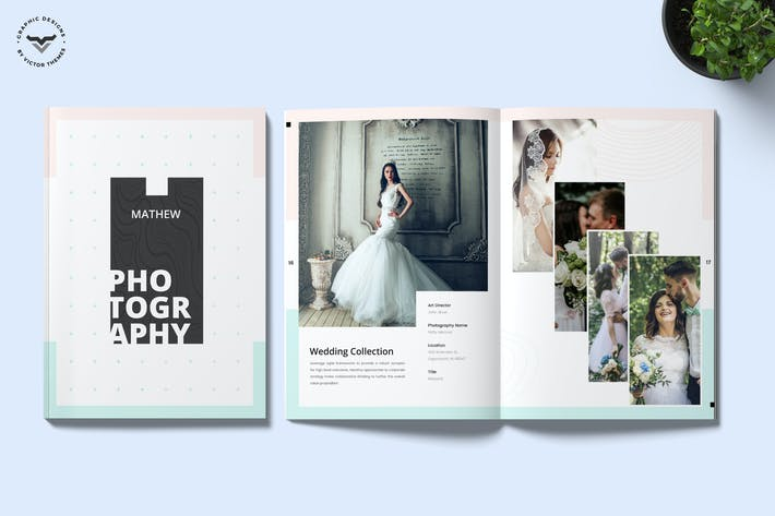 Cover Image For Photography Portfolio Brochure Template