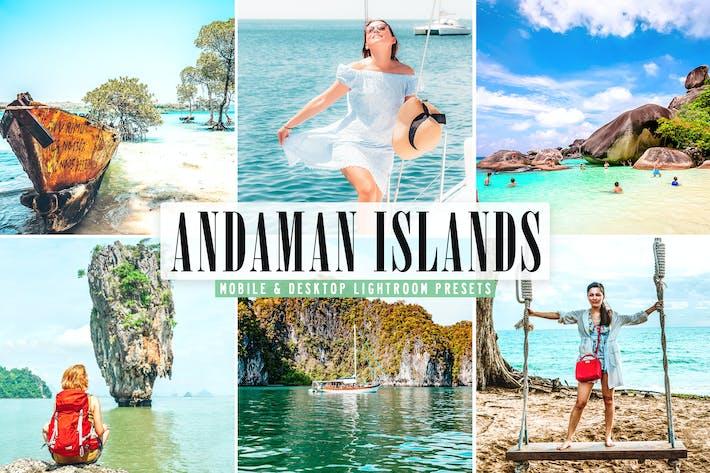 Andaman Islands Mobile & Desktop Lightroom Presets