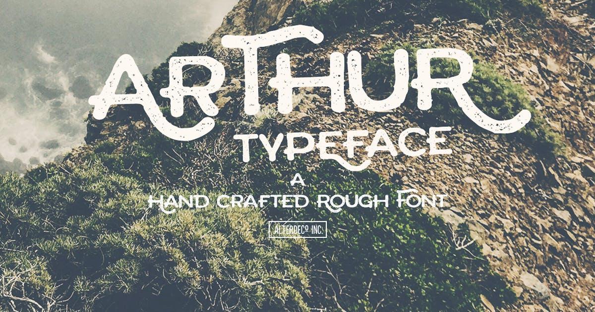 Arthur Typeface by alterdecoinc