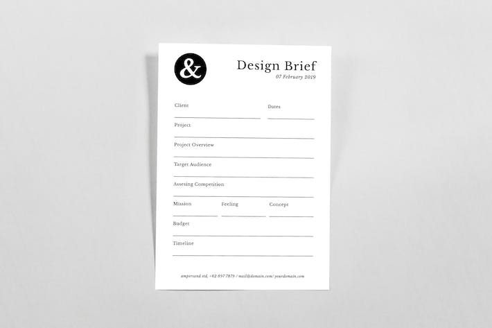 Thumbnail for Design Brief