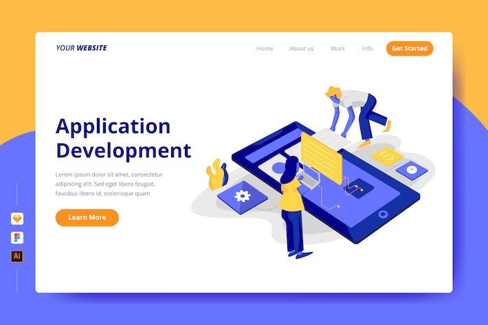 Thumbnail for Mobile Application Development - Landing Page