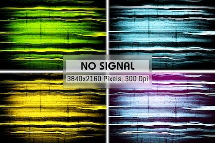 Keine Signal-GrungeHintergründe