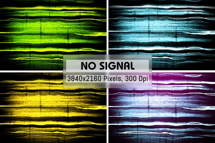 Thumbnail for No Signal Grunge Backgrounds