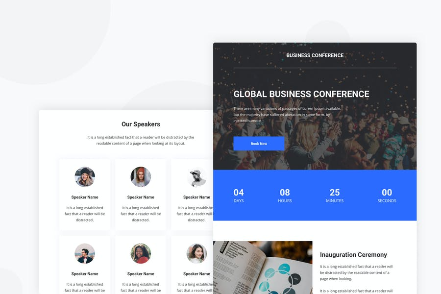 Event & Conference - Email Newsletter