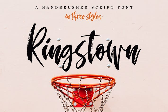 Thumbnail for Ringstown Font Pack