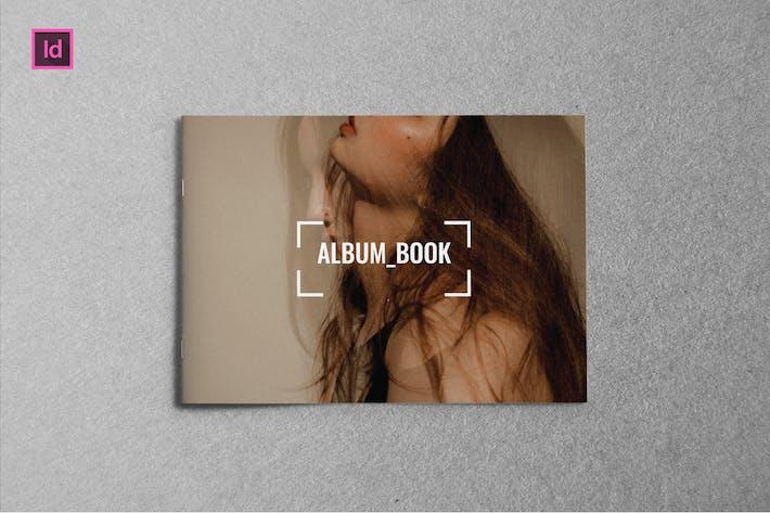 Thumbnail for ALBUM BOOK - A5 Landscape Lookbook template