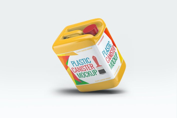 Thumbnail for Plastic Canister Mock-Up