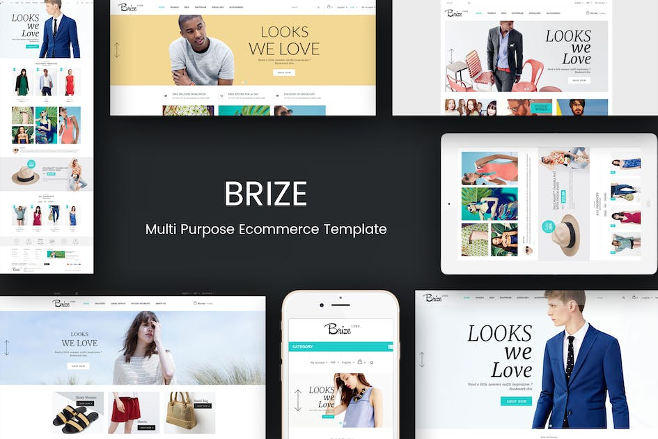 Download Brize - Responsive Magento Fashion Theme by Plaza-Themes