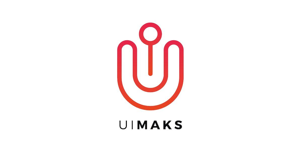 Download Ul Maks Letter Logo Template by Pixasquare