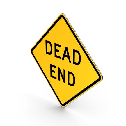 "Schild ""Dead End"