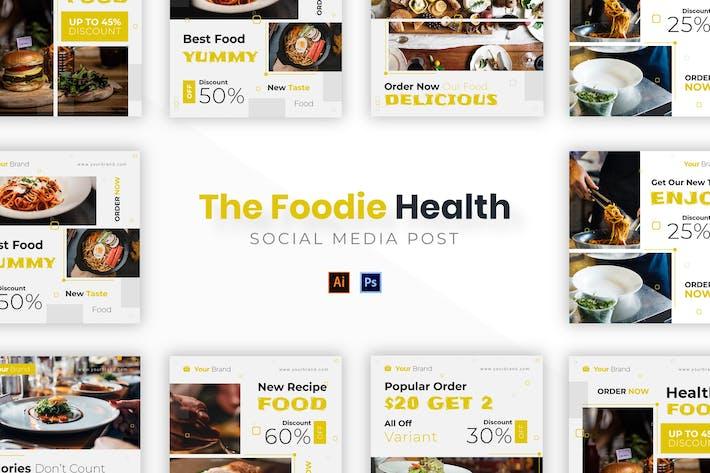 Thumbnail for Foodie здоровья Socmed Post
