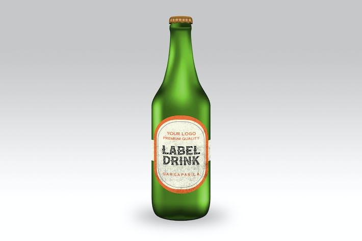 Thumbnail for Bottle Mockup
