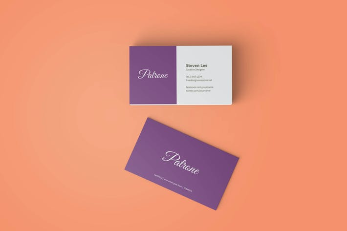 Thumbnail for Business Card Mockup V1