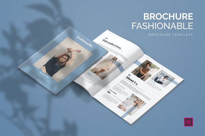 Thumbnail for Fashionable - Brochure Template