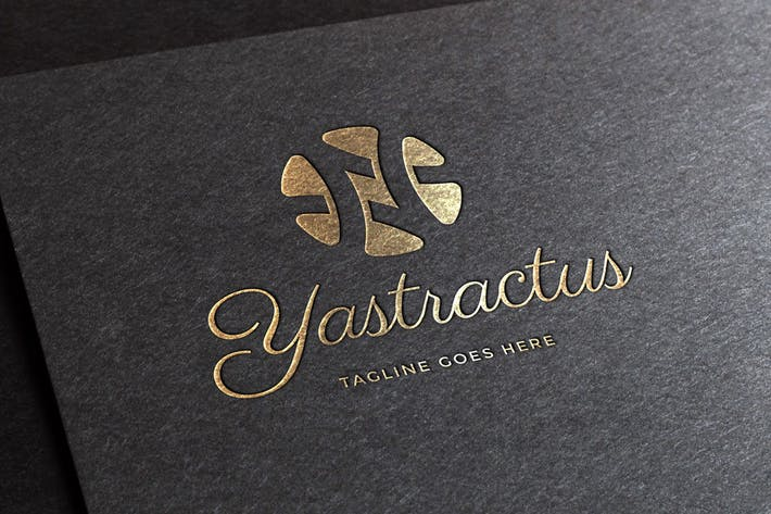 Cover Image For Yastractus Logo Template