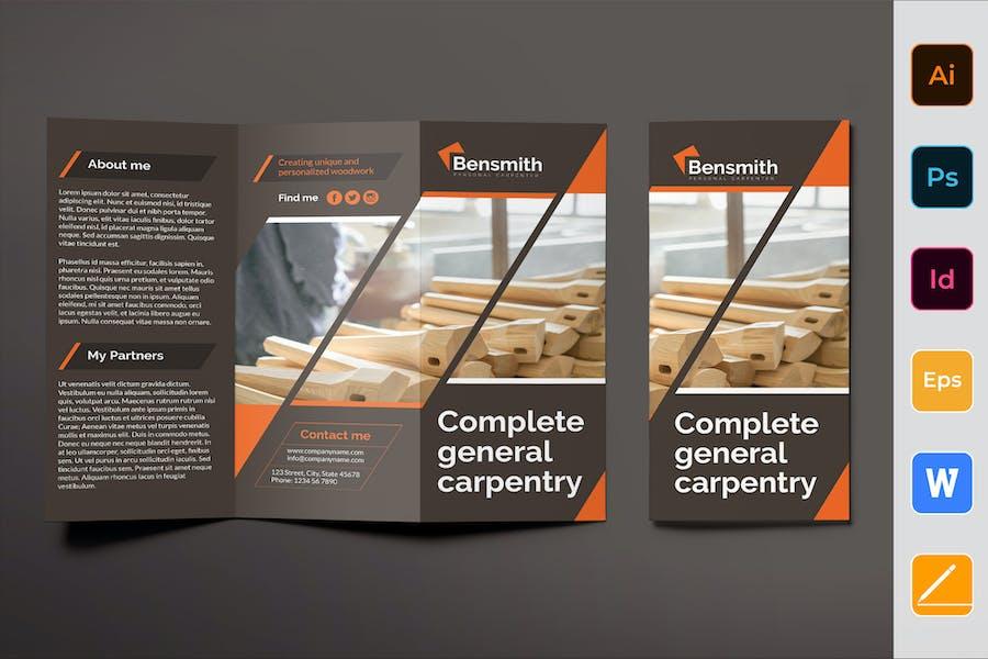 Carpenter Brochure Trifold