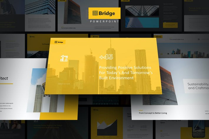 Thumbnail for Bridge - Architect & Developer Powerpoint Template