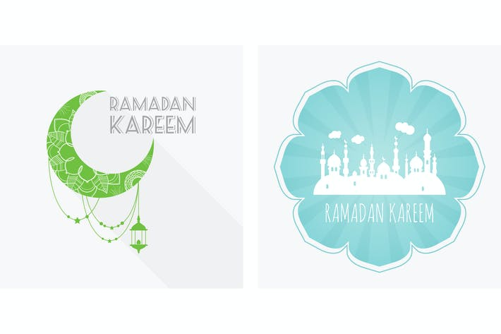 Thumbnail for Ramadan Kareem, greeting card