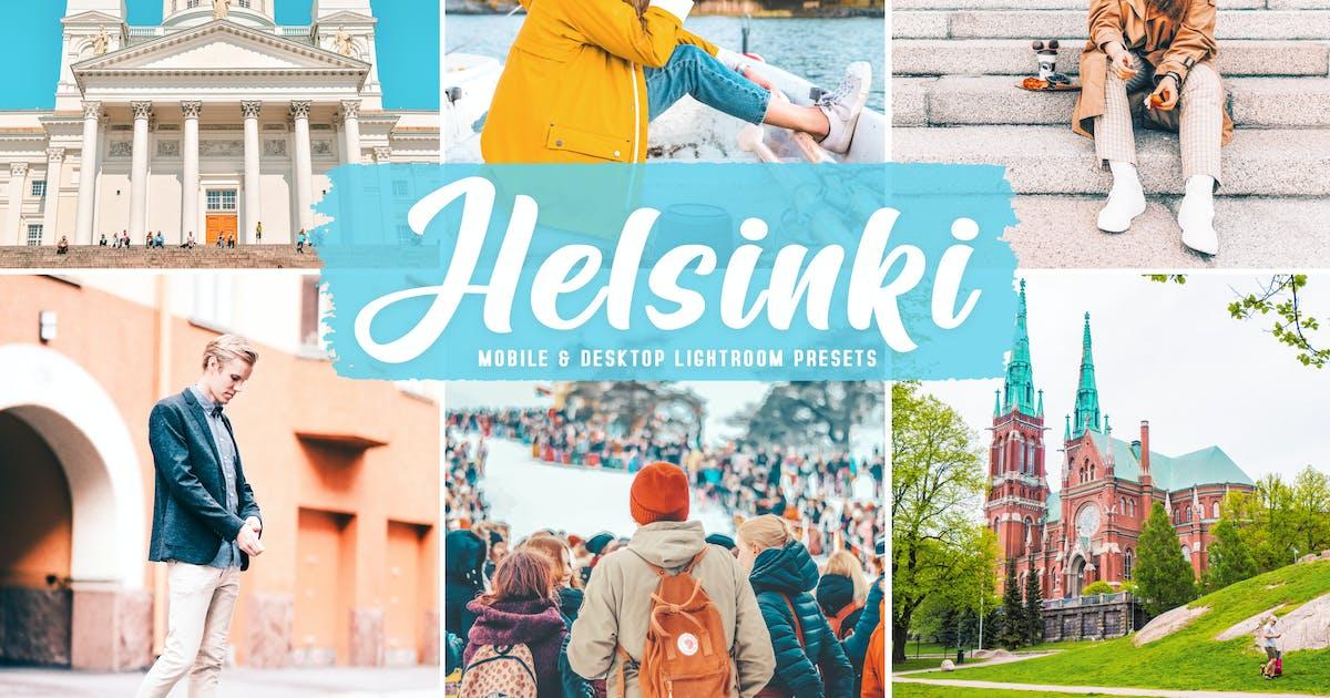 Download Helsinki Mobile & Desktop Lightroom Presets by creativetacos