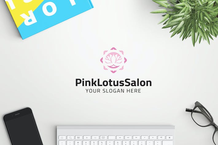 Thumbnail for PinkLotusSalon professional logo