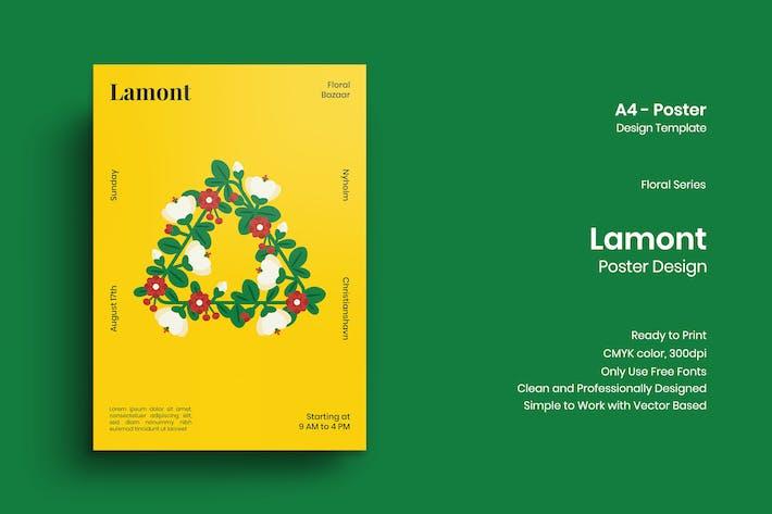 Thumbnail for Lamont Poster Design