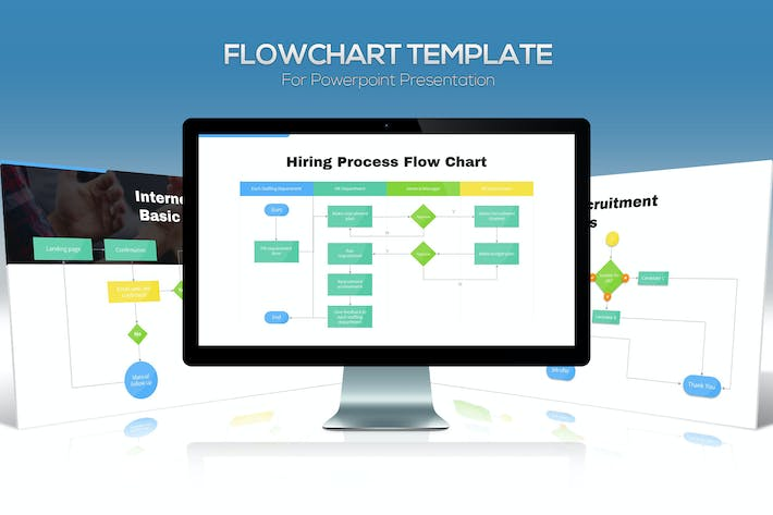 Cover Image For Flowchart Diagram For Powerpoint Presentation