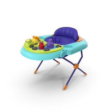 Детское сиденье с игрушками