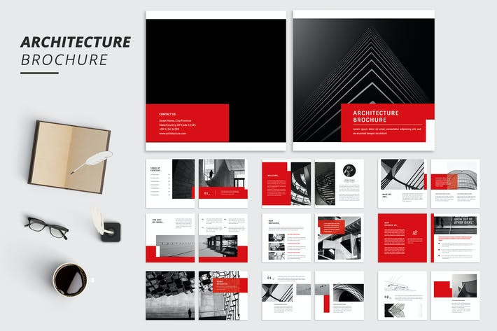 Thumbnail for Work Square Architecture Brochure