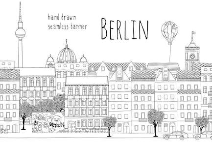 Berlin - Seamless Banner