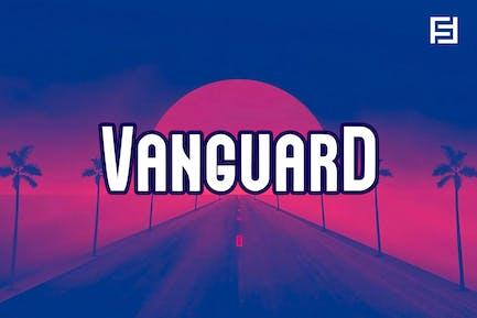 VANGUARD - Unique Neo-Retro Display Typeface