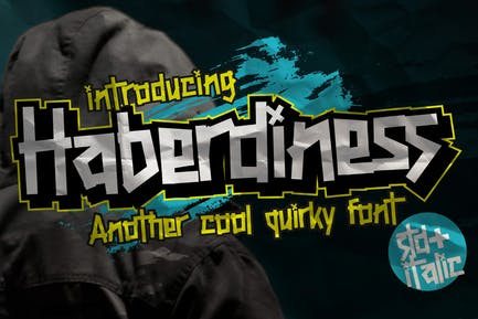 AN Haberdiness - Quirky Typeface