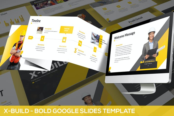 Thumbnail for X-Build - Bold Google Slides Template