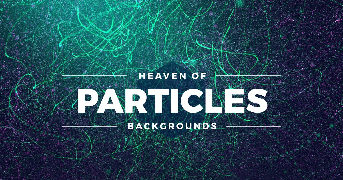 Abstract Particles Heaven Backgrounds by Shemul