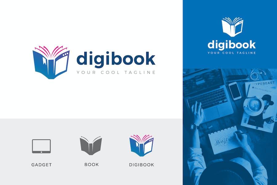 Digibook Corporate Logo Vector Template