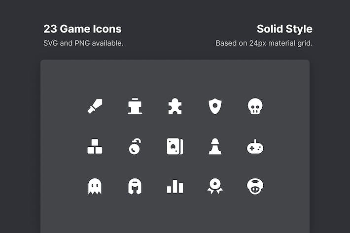SpielIcons - Solid Style