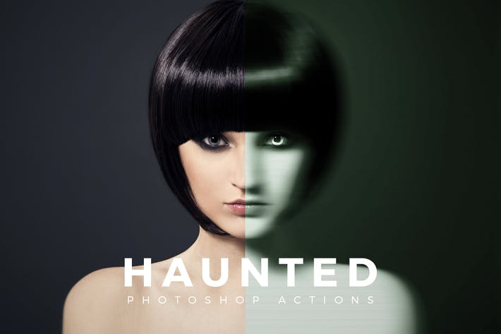 Thumbnail for Haunted Photoshop Actions