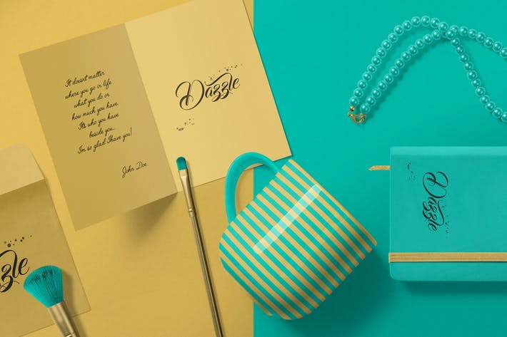 Gorgeous Card & Envelope Mockup Scenes